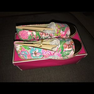 Lilly Pulitzer Target collab espadrilles 6.5 NWT